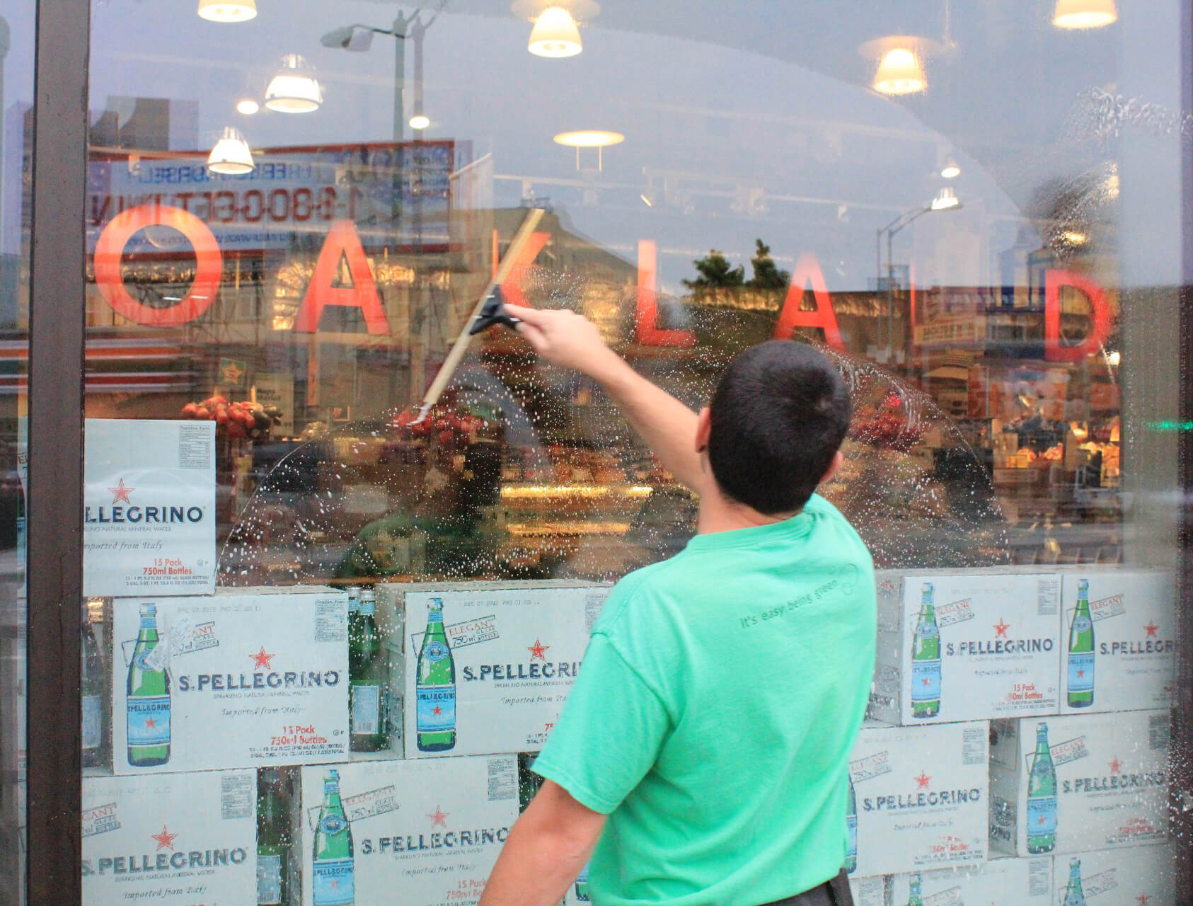 Commercial Window Cleaning - Wholefoods